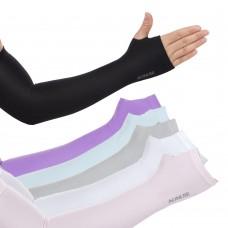 Aonijie E4039 UPF50+ UV 防曬透氣露指袖套|防曬手袖