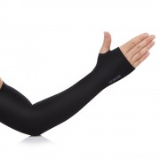 Aonijie E4039 Soft Cool Compression Arm Sleeve UPF50+ With Finger Hole For Outdoor Sport