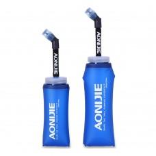 Aonijie SD13 350ml / 600ml 長吸管軟水樽|可摺疊式|戶外運動|跑步