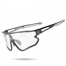 Cateye A.R. Sports Sunglasses|Photochromic|Cycling Glasses|Black