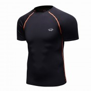 CLSL Black|Men Short Sleeve Compression Shirt|Sportwear