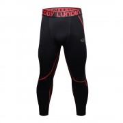 Cody Lundin Black/Red V2|Men Long Compression Pant|Sportwear
