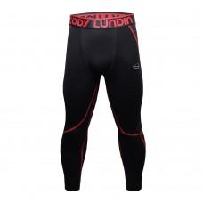 Cody Lundin 黑紅色 V2|男裝長緊身褲|運動服裝|健身壓力褲