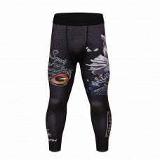 Cody Lundin 貓頭鷹|男裝長緊身褲|運動服裝|健身壓力褲