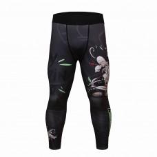 Cody Lundin 熊貓|男裝長緊身褲|運動服裝|健身壓力褲