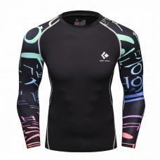 Cody Lundin CT116黑底韓文|男裝長袖緊身衣|運動服裝|健身壓力衣
