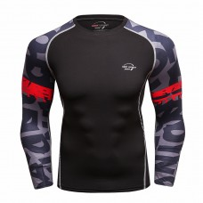 Cody Lundin CT239黑底長袖|男裝長袖緊身衣|運動服裝|健身壓力衣