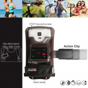DiCAPac Action DAB-C1 Waterproof Case + Bike Mount for Smartphone