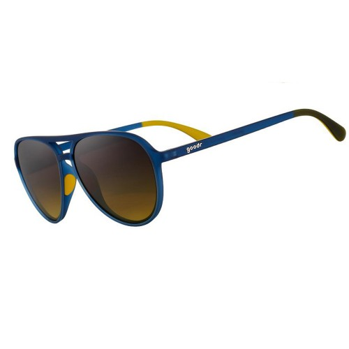 Goodr MG 運動跑步太陽眼鏡- 深藍色(黃鏡)