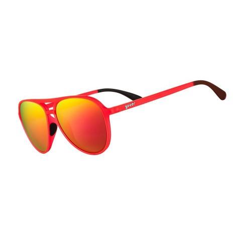 Goodr MG 運動跑步太陽眼鏡- 橙色(紅鏡)