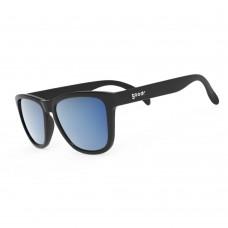 Goodr 運動跑步太陽眼鏡- 黑色(藍鏡)