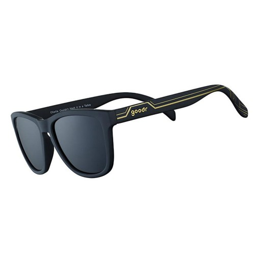 Goodr Running Sunglasses - Charlie Couldn't Hack It in a Talkie