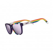 Goodr 運動跑步太陽眼鏡 - 紫/白色(紫鏡)