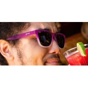 Goodr 運動跑步太陽眼鏡 - 紫色(紫鏡)