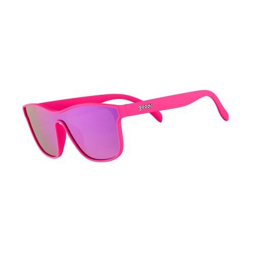 Goodr VRG 運動跑步太陽眼鏡- 粉紅色(紫鏡)