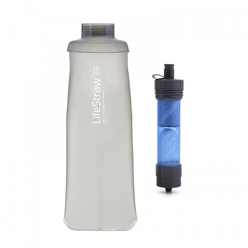Lifestraw Flex Double Water Filter with Softflask 700ml |Traveling|Trail Running|Hiking|Camping