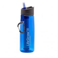 Lifestraw Go 便攜過濾水樽 22oz / 650ml (藍色) |戶外旅行|登山遠足|露營