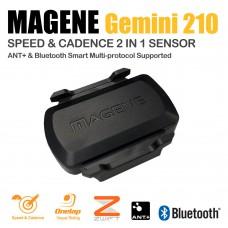 Magene Gemini 210 ANT+ 藍牙雙頻速度踏頻感應器