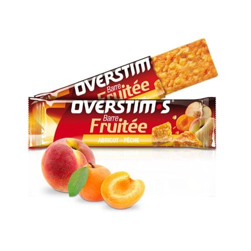 Overstims Fruity 能量棒 (杏仁 - 桃子)   天然有機   能量補給