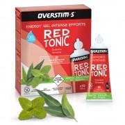 Overstims Energy Gel - RED TONIC (薄荷+尤加利葉味) 能量膠 | 天然能量啫喱 | 增強即時能量
