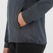 Salomon Agile FZ Hoodie W  外套 風褸 運動服裝 女裝