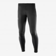 Salomon AGILE LONG TIGHTS MS |緊身長褲|運動服裝|男裝