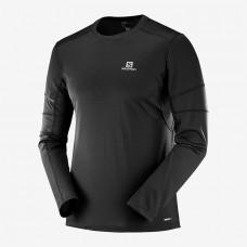 Salomon Agile LS Tee MS |輕薄快乾長袖Tee恤|運動服裝|男裝